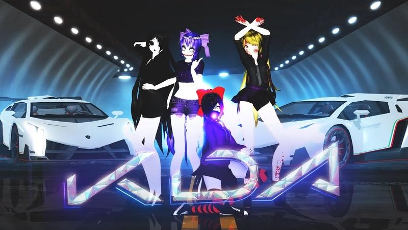 【MMDLOL】K/DA - POPSTARS【Creepypastas Yuki Kiyuwai】