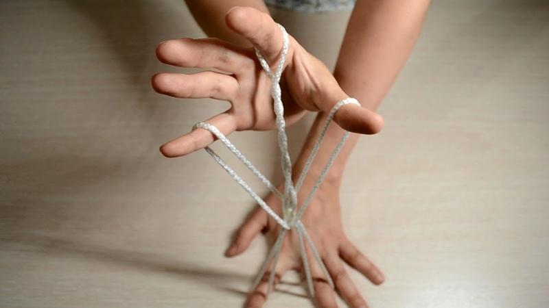 Игры с веревочкой для детей.