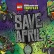 Лего Черепашки Ниндзя - игра Хранить Эйприл (Save April)