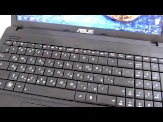 Видео обзор ноутбука Асус Х55А (Asus X55A) Часть 2.mp4