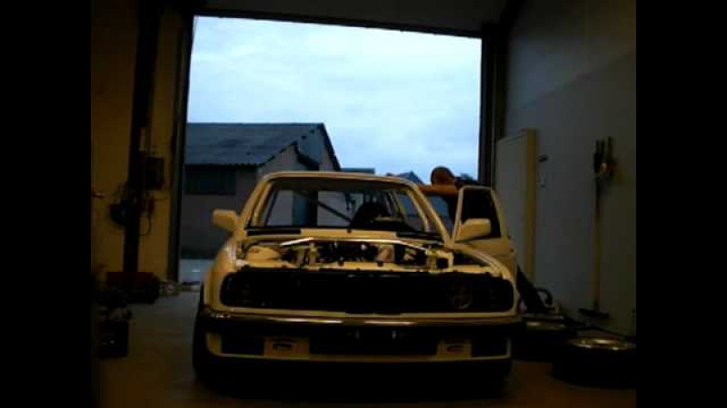 E30 335i AST Suspension test