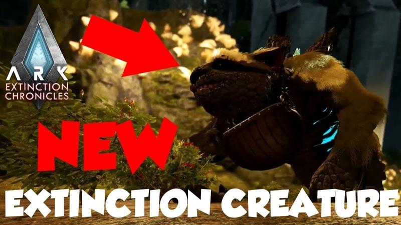 ARK Survival Evolved - Extinction (NEW SLOTH CREATURE)