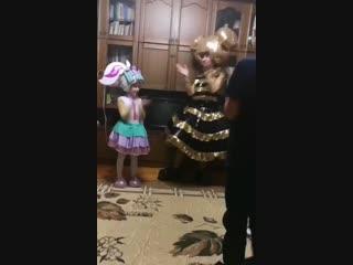 3.11.18 Поздравлялки от куколок LOL для Доминички, 6 лет!!! 🤗🤗