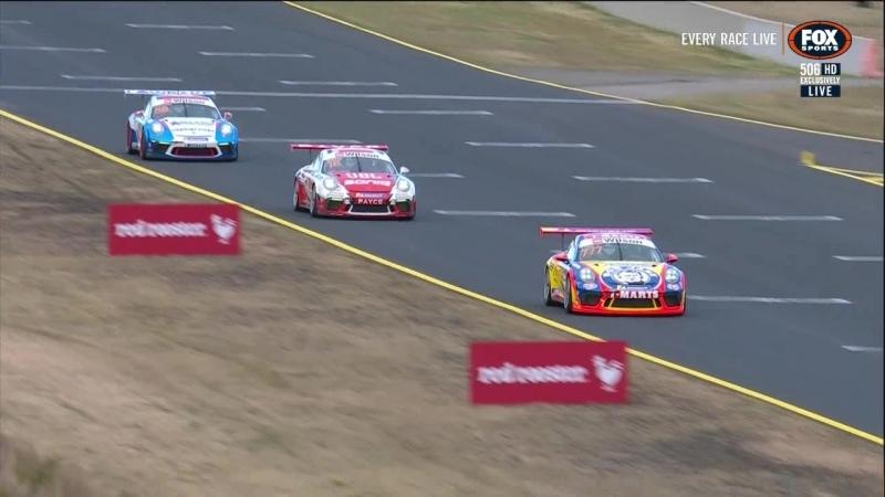 Porsche Carrera Cup Australia 2018. Round 5. Sydney. Race2
