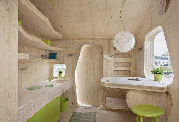 Микро-дом для студентов площадью 10 кв.м.