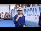 Мерил Стрип на премьере фильма Mamma Mia Here we go again