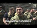 Kadyrov's gunmen in the center of Donetsk, 25.05.2014