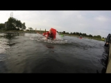 lunar Orbit - Flatwater kayak freestyle