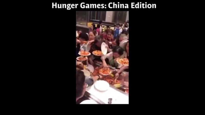 Шведский стол в Китае
