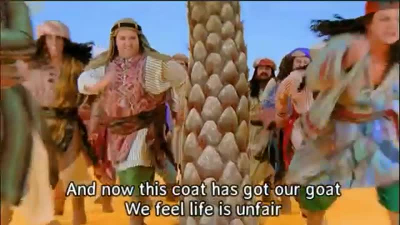 Joseph His Amazing Technicolor Dreamcoat (eng sub embedded)