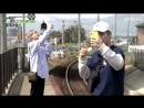 Minseok - tries to make selca without baekhyun [travel the world on exo's ladder]