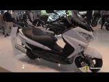 2018 Suzuki Burgman 125 ABS - Walkaround - 2017 EICMA Motorcycle Exhibition