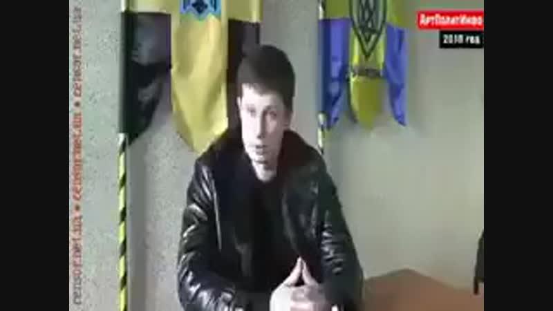 Глава фашиков из Азова Билецкий рассказывал 2010 году, что Украина должна быть с Россией. Во как.