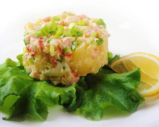 чешский картофельный салат