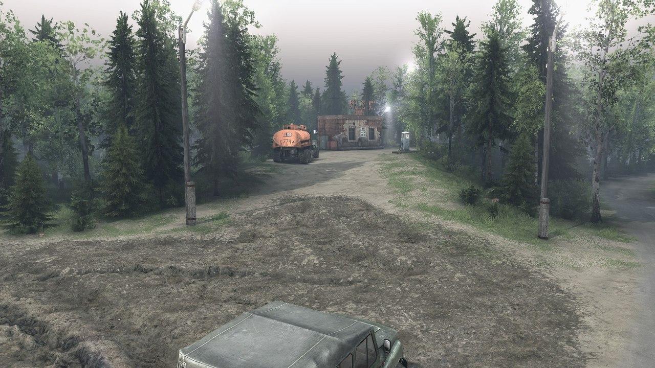 """Карта """"Ежово"""" для Spintires - Скриншот 2"""