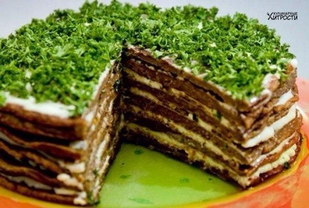Самый вкусный печеночный торт