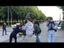 Бэкстейдж со съёмок выпуска программы с Ромой, Женей и Оксаной прогулка в Парке 300-летия