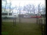 Краснодар. Авария с участием троллейбуса.
