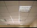 Монтажа подвесного потолка амстронг