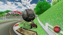 Ball Carrying the Yoshi Circuit Map