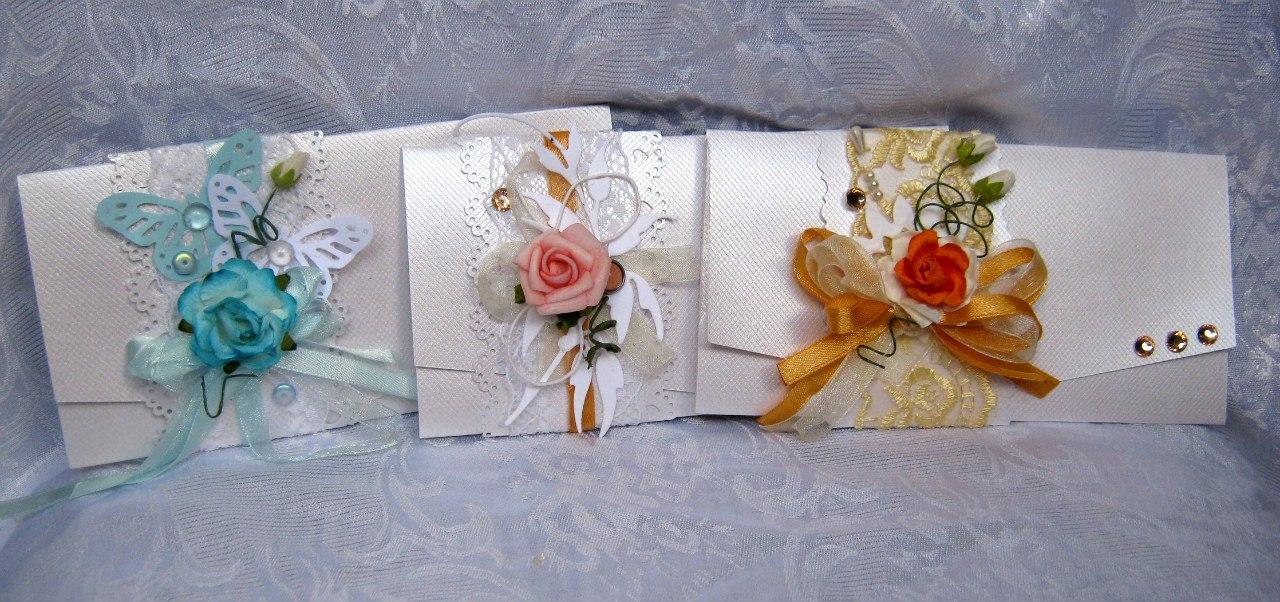 Конверты для денег на свадьбу своими руками в красно белом оформлении
