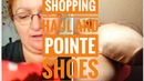Shopping Haul/slippers Haul/talking about pointe shoe/live your dreams