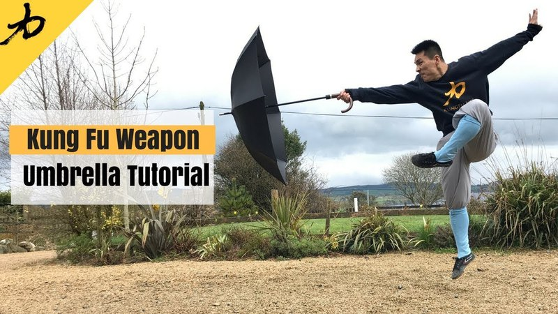 Kung Fu Weapon - Umbrella - Tutorial
