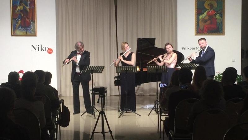 G Briccialdi Flute Quartet A Dur