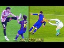 Players HUNTING on Lionel Messi ● Horror Tackles ● Brutal Fouls ● When Players Can't STOP Messi HD