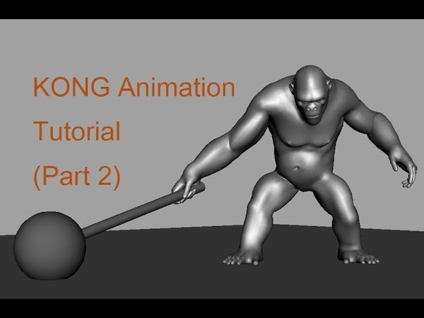 KING KONG Animation ( Part 2 )/ Tutorial/ NAV Animator