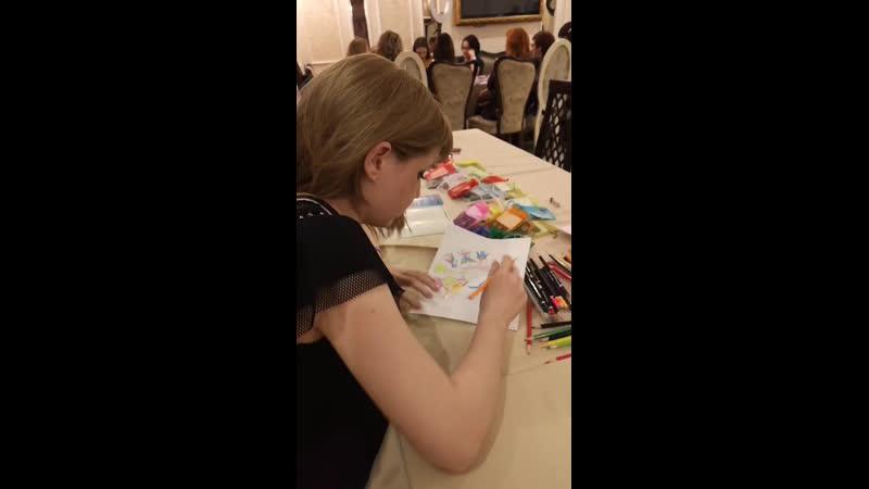 Live: Вавилина Екатерина  АРТ-терапевт Мандалы Света