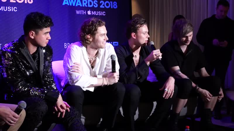 5 Seconds of Summer_ Backstage at ARIAs 2018 (5SOS Uncut)