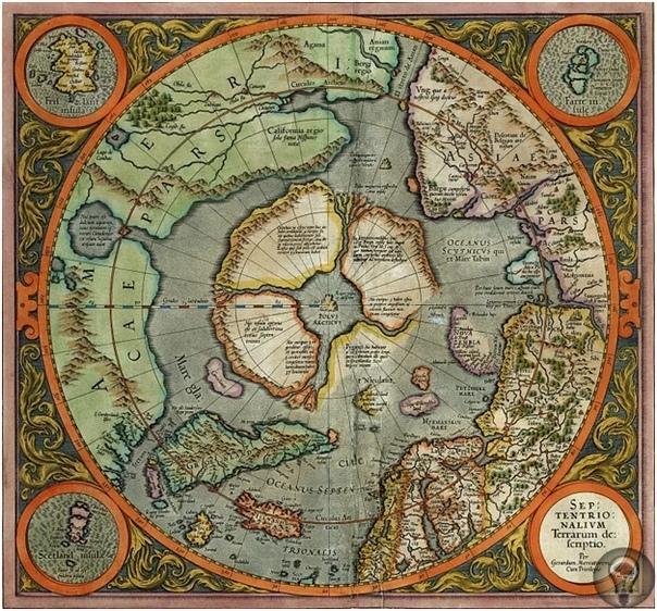 Была ли Антарктида безо льда Сегодня наука говорит, что 6000 лет назад в Антарктиде не существовало ледяного панциря, и было не так уж холодно. Удивительно, но об этом знали картографы 16
