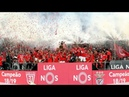 SL BENFICA CELEBRATES THEIR 37th TITLE IN PORTUGUESE FOOTBALL HISTORY. 2018/19 PORTUGAL CHAMPIONS