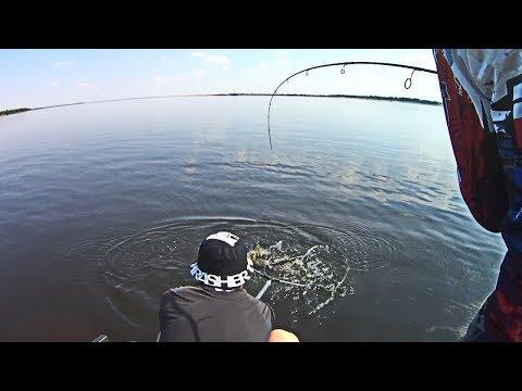 Как же она давит! Рыбалка на Волге по сумасшедшей жаре 2018