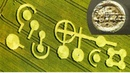 The most mysterious crop circle conforming with ancient metal plates