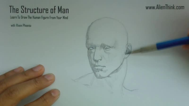 The Structure Of Man HD - 5 - Drawing The Human Head Basics_01