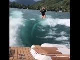 Тесса Ворли на воде