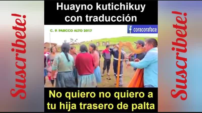 HUAYNO KUTICHIKUY HUANCAVELICA PERU