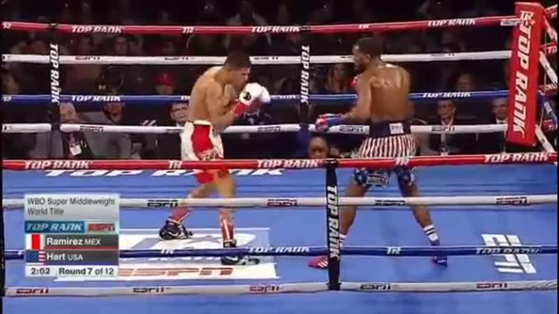 Хильберто Рамирес vs Джесси Харт (полный бой) [14.12.2018]