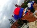 Футбольный праздник на Красной и Манежной площадях