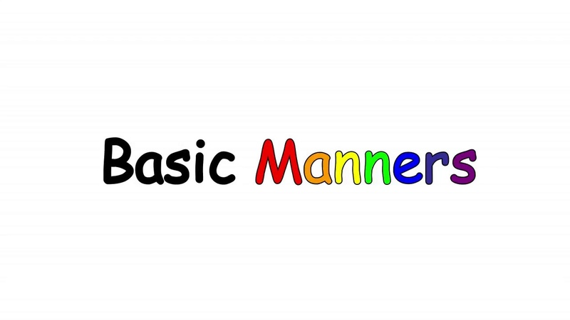 Basic Manners with Ms. Jeanne (S1E01)