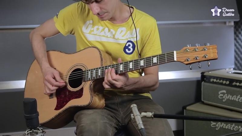 Гитара MARTINEZ W-124BC/N - красивая электроакустика