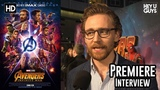 Tom Hiddleston on the things you've never seen before in Avengers Infinity War - Premiere Interview