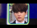 Yoongi's face changed so quickly after he noticed he was on camera omg fjghfhg cutie