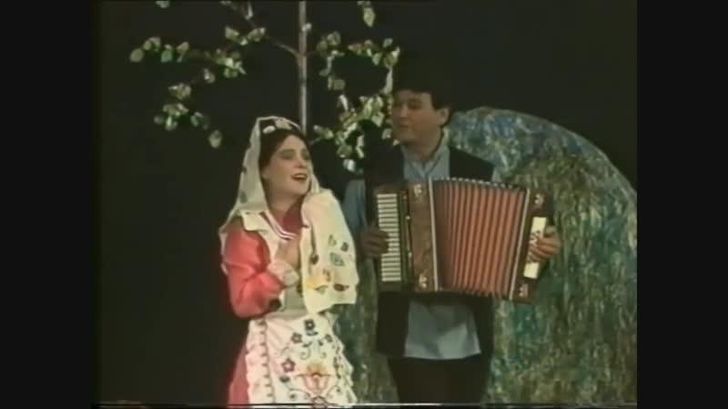 Песня из спектакля Галиябану Исполняют Фидан Гафаров и Нурия Ирсаева
