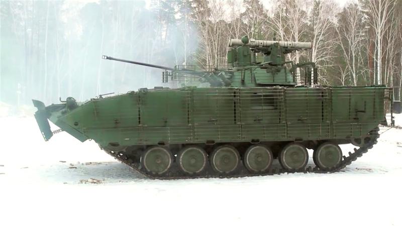 Модернизированная БМП-2М | BMP-2M Infantry Fighting Vehicle upgrade