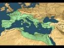 восход и падение Римской империи карта
