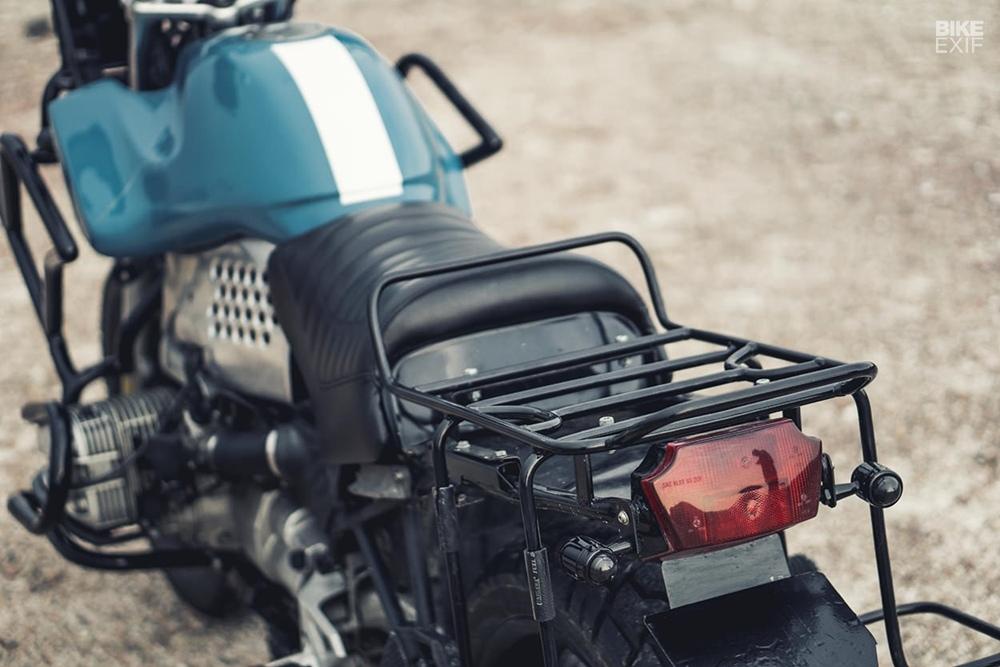 Beautiful Machines: кастом BMW R1100RS Tebuan Biru