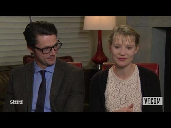 Mia Wasikowska Matthew Goode Talk About Stoker 💙💚